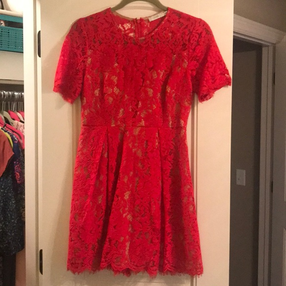 Lush Dresses & Skirts - Red cocktail dress. Size small. Worn once